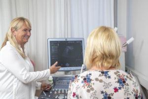 Dr. Michaela Boeckl und Dr. Evelyn Hettrich  Foto: Kolarik Andreas 21.05.2019
